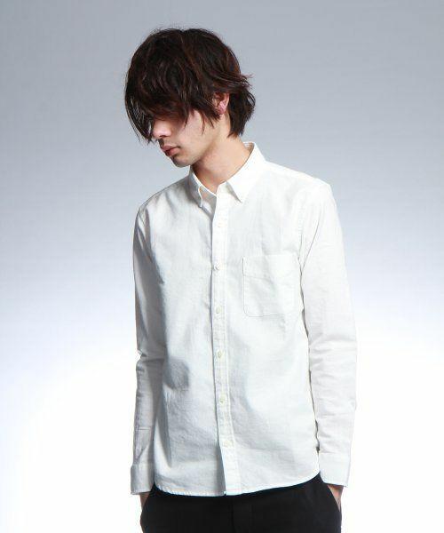 白シャツ着こなしHARE