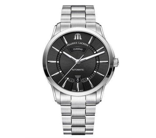 モーリス・ラクロア ポントス デイデイト MAURICE LACROIX PONTOS Day Date PT6358-SS002-330-1 メンズ 自動巻き腕時計