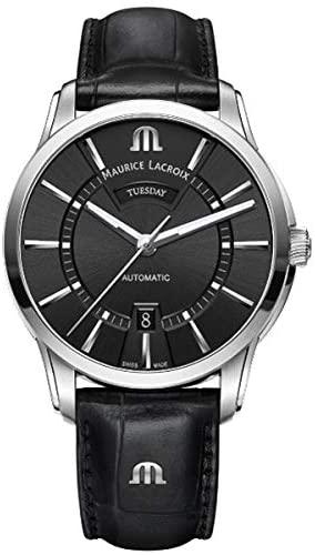 モーリスラクロア MAURICE LACROIX 腕時計 ポントス デイデイトモーリス ラクロア PT6358-SS001-330-1