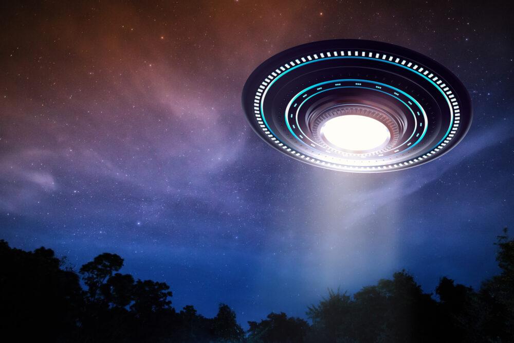 ufo or alien spaceship