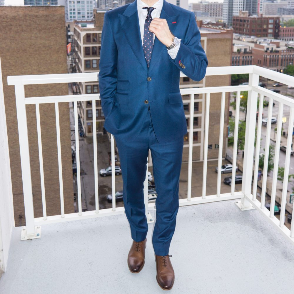 スーツ ネイビー