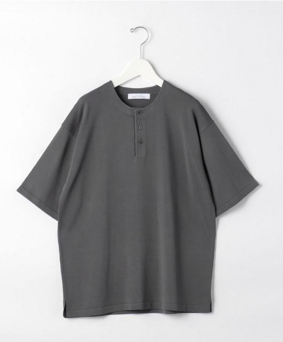 green label relaxingのニットTシャツの画像