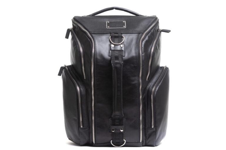 expensive elegant men's briefcase.