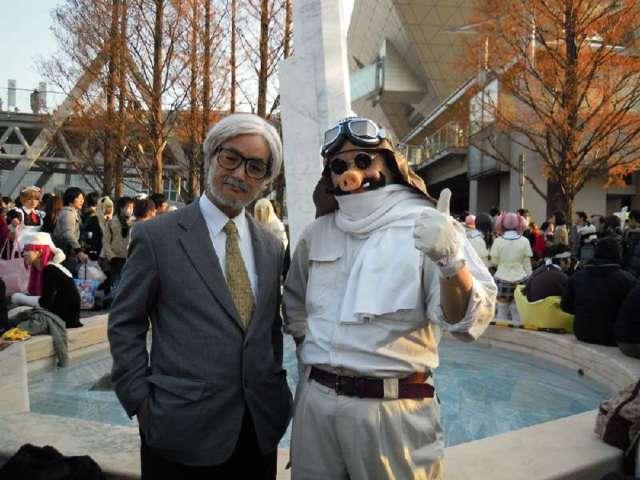 ハロウィン仮装 宮崎駿と紅の豚