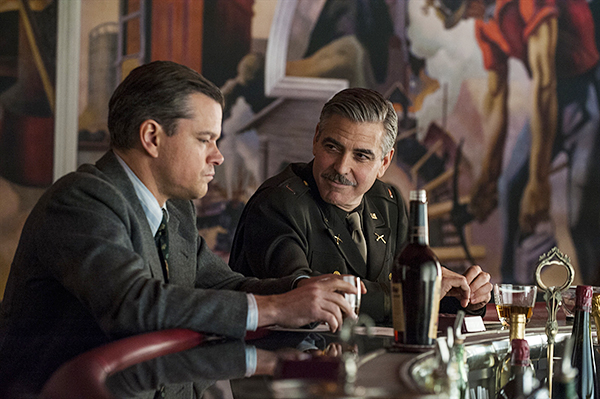 THE MONUMENTS MEN.