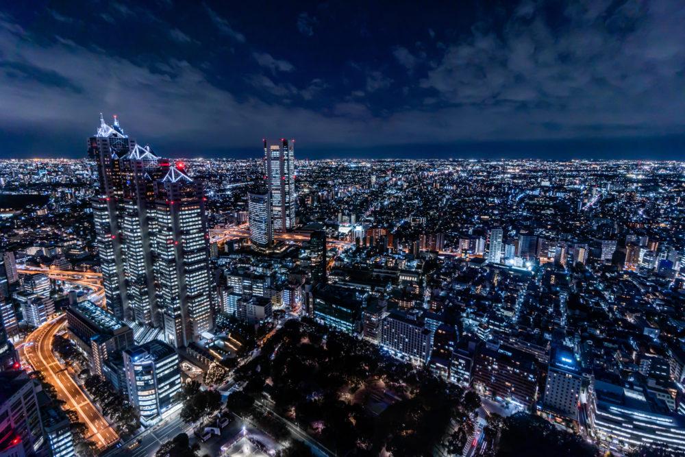 都庁展望台からの夜景