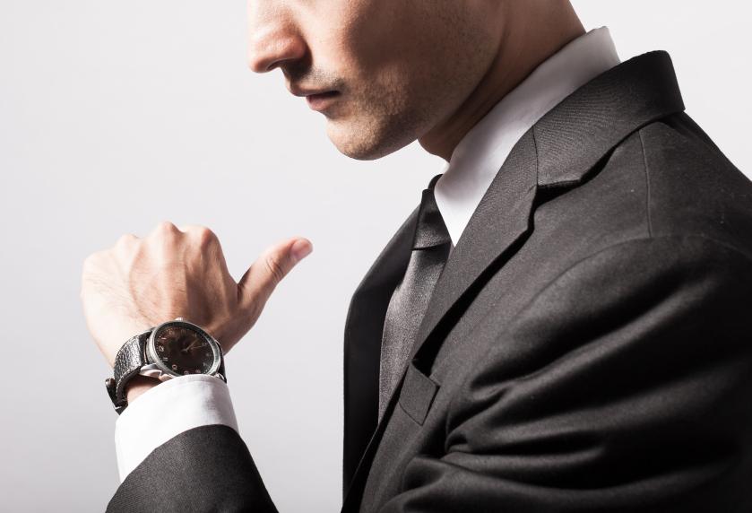 スーツに合う腕時計 (2)