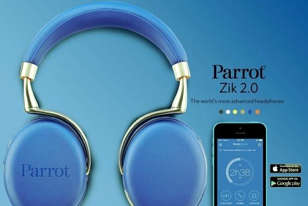 Parrot(パロット) Zik2.0はアプリとも連動