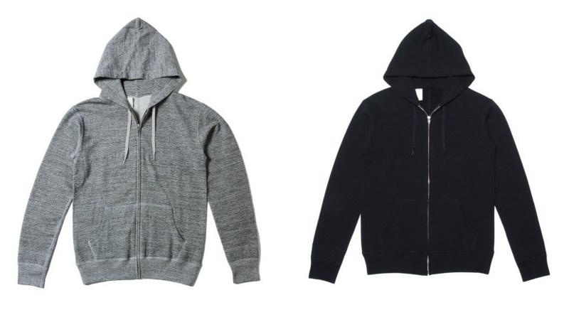 程よい薄さで1枚はもちろん、テーラードジャケットやレザージャケットなど定番アウターのインナーとしても人気のN.HOOLYWOOD  (エヌハリウッド)のパーカー。