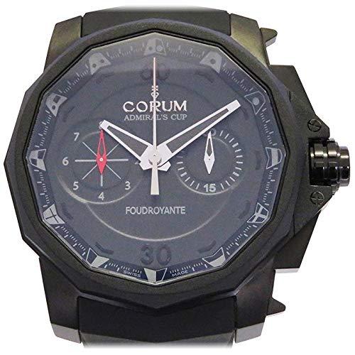 コルム CORUM アドミラルズカップ48 フドロワイヤント リミテッド 895.931.95/0371 AN12 ブラック文字盤 新品 腕時計 メンズ (W153298) [並行輸入品]