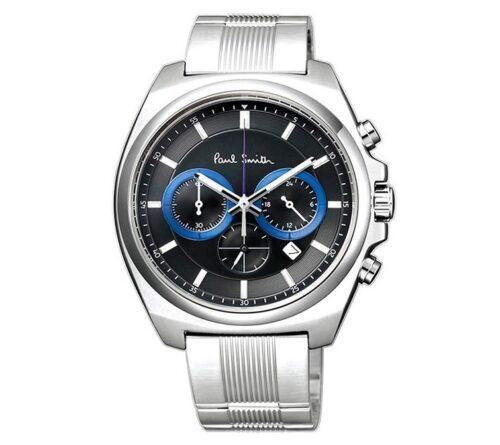 Paul Smith ポールスミス メンズ 腕時計 ファイナルアイズ クロノグラフ ブラック Finaleyes Chronograph BA4-612-51 新品 [並行輸入品]