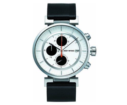 [イッセイミヤケ]ISSEY MIYAKE 腕時計 メンズ W ダブリュ クロノグラフ 和田智デザイン SILAY003