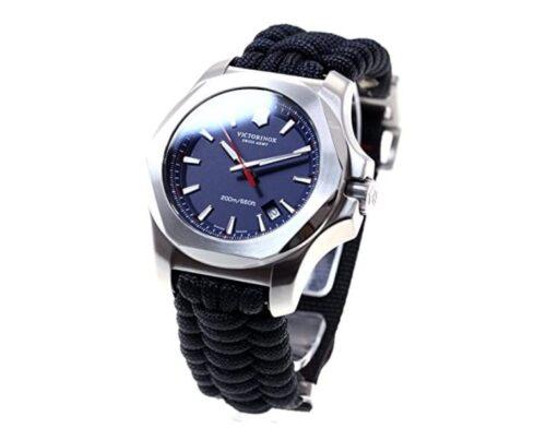 [ビクトリノックス]VICTORINOX 腕時計 メンズ I.N.O.X. PARACORD INDIGO BLUE イノックス パラコード インディゴブルー 限定モデル ヴィクトリノックス 249105 [正規輸入品]