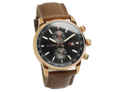 [Paul Smith]ポールスミス 腕時計 ウォッチ ビジネス ファッション カジュアル クロノグラフ ブラウン PS0110021 [並行輸入品]