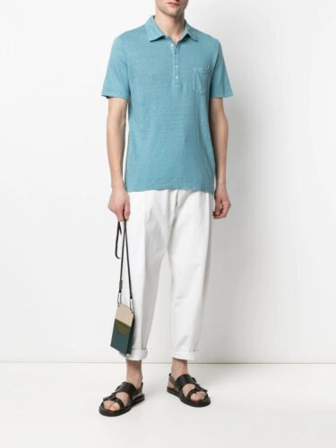 Massimo Alba チェストポケット ポロシャツ