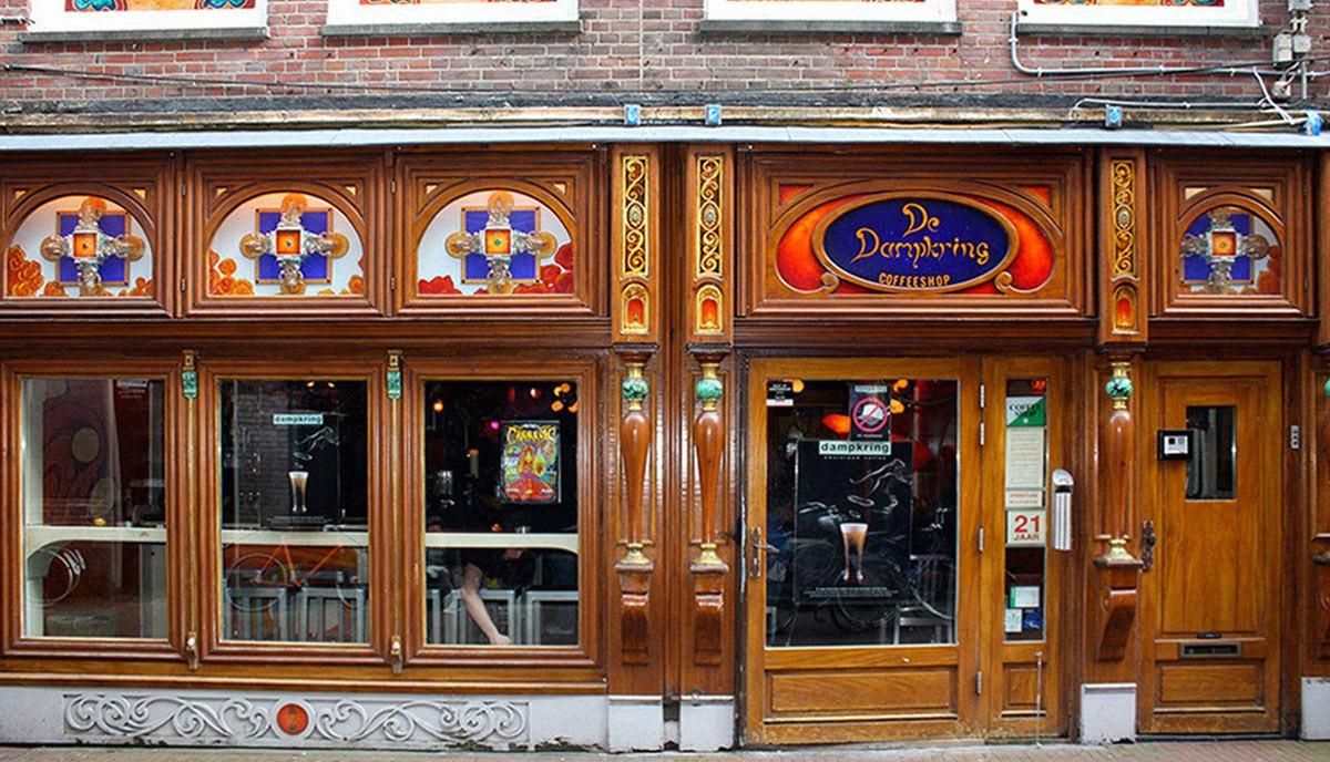 アムステルダムのコーヒーショップ (5)