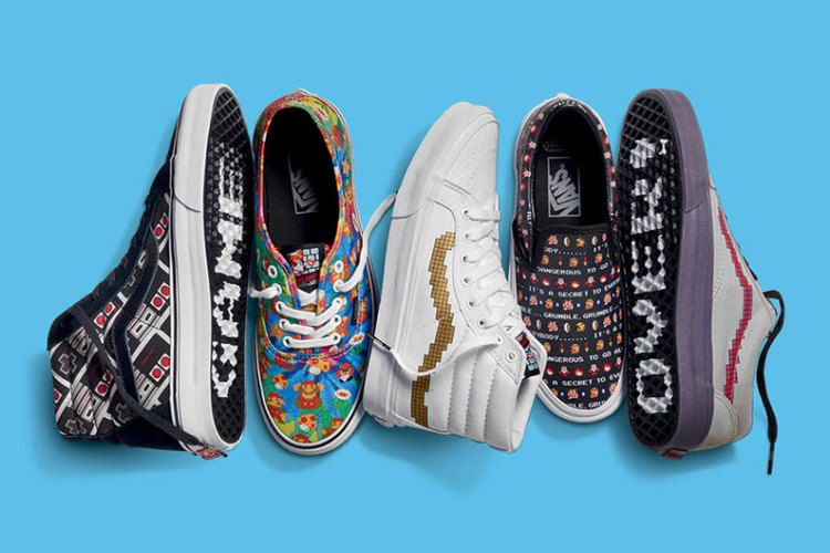 VANS×NINTENDO COLLECTION