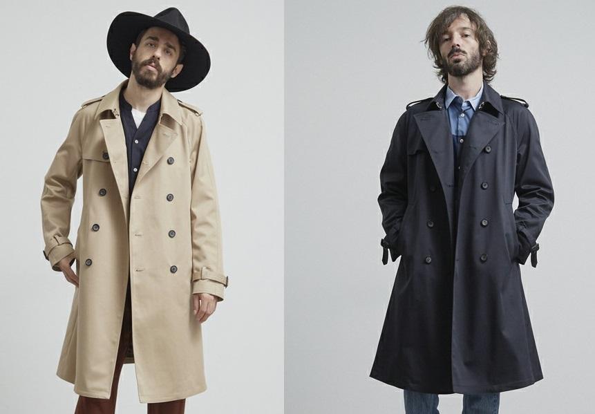 ユナイテッドトウキョウのトレンチコートを着る男性の画像