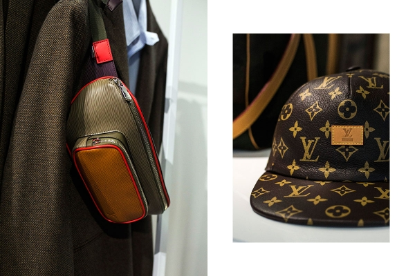 シュプリーム×ルイ ヴィトン 迷彩柄のバッグコレクションの画像1