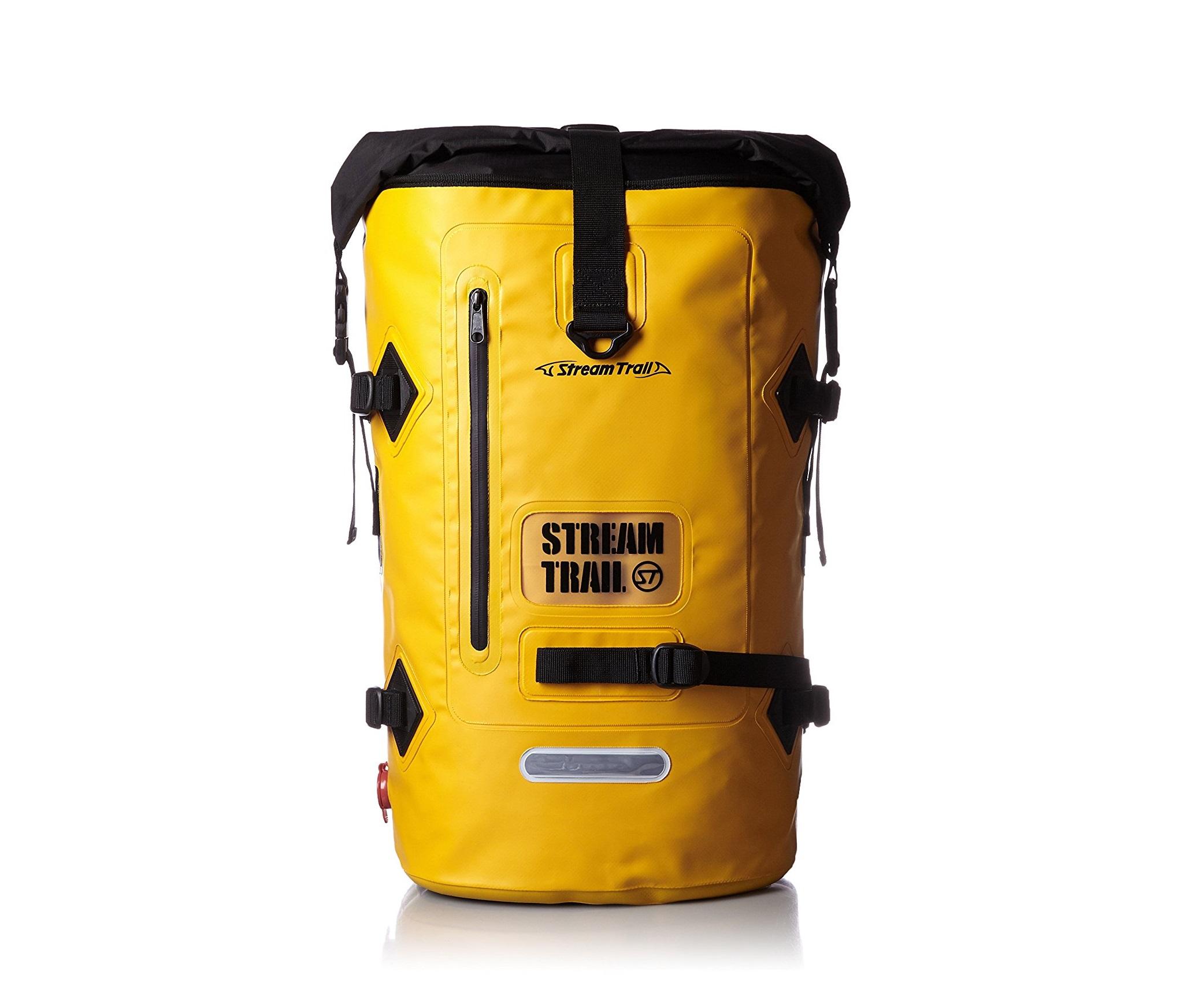 STREAM TRAIL(ストリーム トレイル)のバッグ(黄)の画像