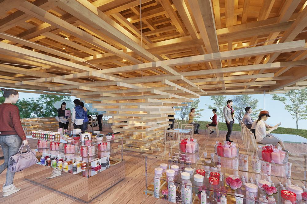 隈研吾がデザインした絶景カフェ「COEDA HOUSE」が熱海にオープン