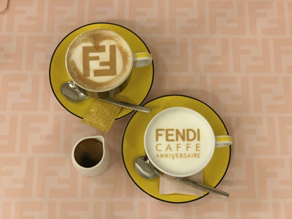 アニヴェルセルコラボカフェ(FENDI)1