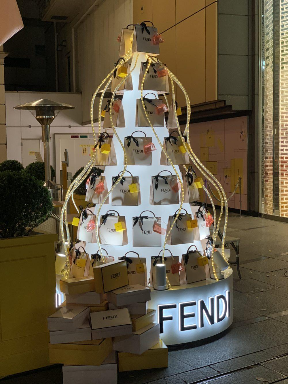 アニヴェルセル コラボカフェ(FENDI)3
