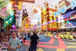 VR化が加速したスマートフォンより一段階上の近未来を描くショートムービー「HYPER-REALITY」