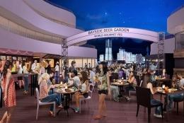横浜ベイクォーターの屋外ビアガーデンが5月27日オープン。期間ごとに世界の屋台料理&飲み放題