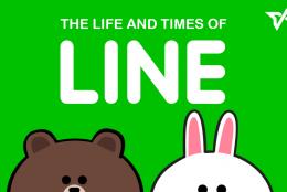 【LINEの歴史】5周年を迎えたLINEの軌跡がわかるインフォグラフィック