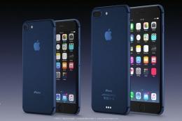 iPhone7に新色「ディープブルー」登場?スペースグレーは廃止との声も