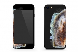 iPhoneを爆発したギャラクシーノートのようにデコレーション。「EXPLO-SUNG IPHONE SKIN」