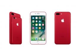 iPhone 7に新色「レッド」が追加。3月25日から注文受付を開始
