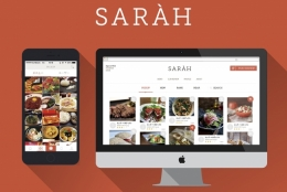 お店を探すのではなく、料理写真からお店を選ぶ、新しいグルメ探し「SARAH(サラ)」